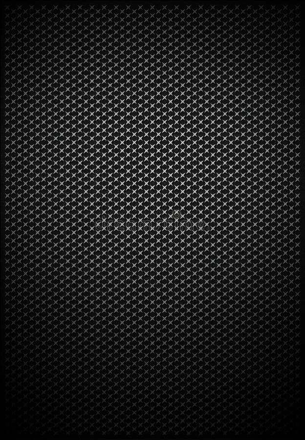 krzyż folująca siatki metalu wzoru tekstura ilustracja wektor
