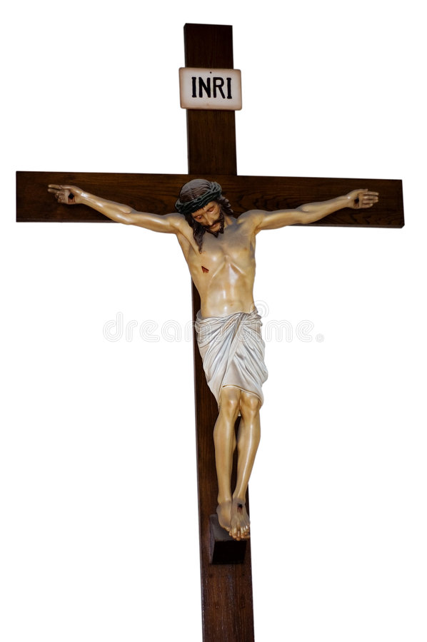 krzyż Jezusa zdjęcie royalty free