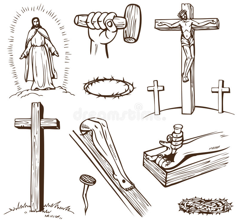 krzyżowanie royalty ilustracja