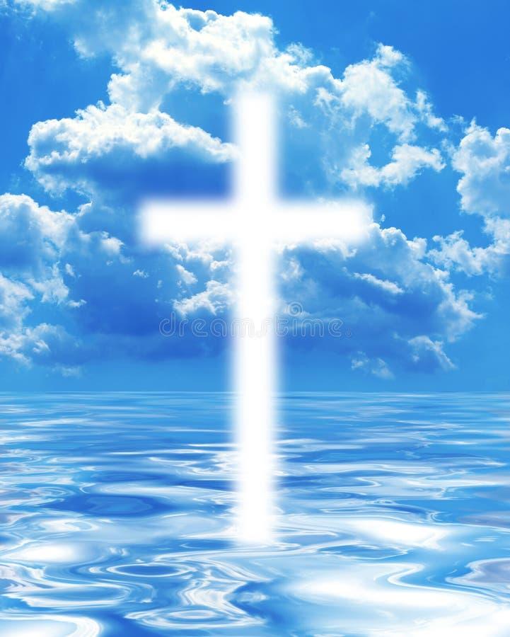 Download Krzyż obraz stock. Obraz złożonej z religijny, zmierzch - 28960875