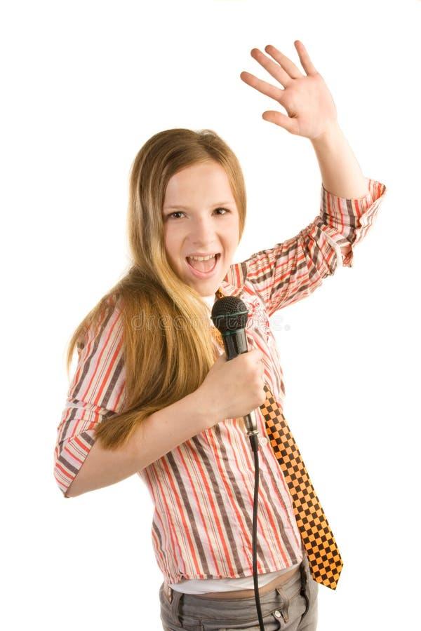 Krzycząca Gwiazda Rocka Zdjęcie Royalty Free