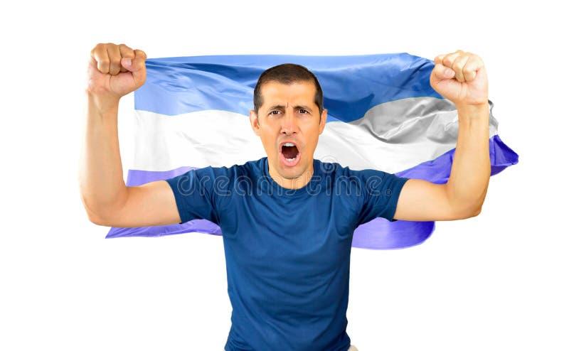 Krzyczeć dla zwycięstwa zdjęcie royalty free