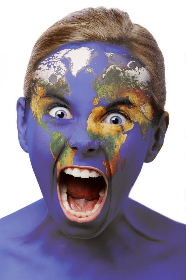 Download Krzyk świat zdjęcie stock. Obraz złożonej z asia, kartografia - 2907832