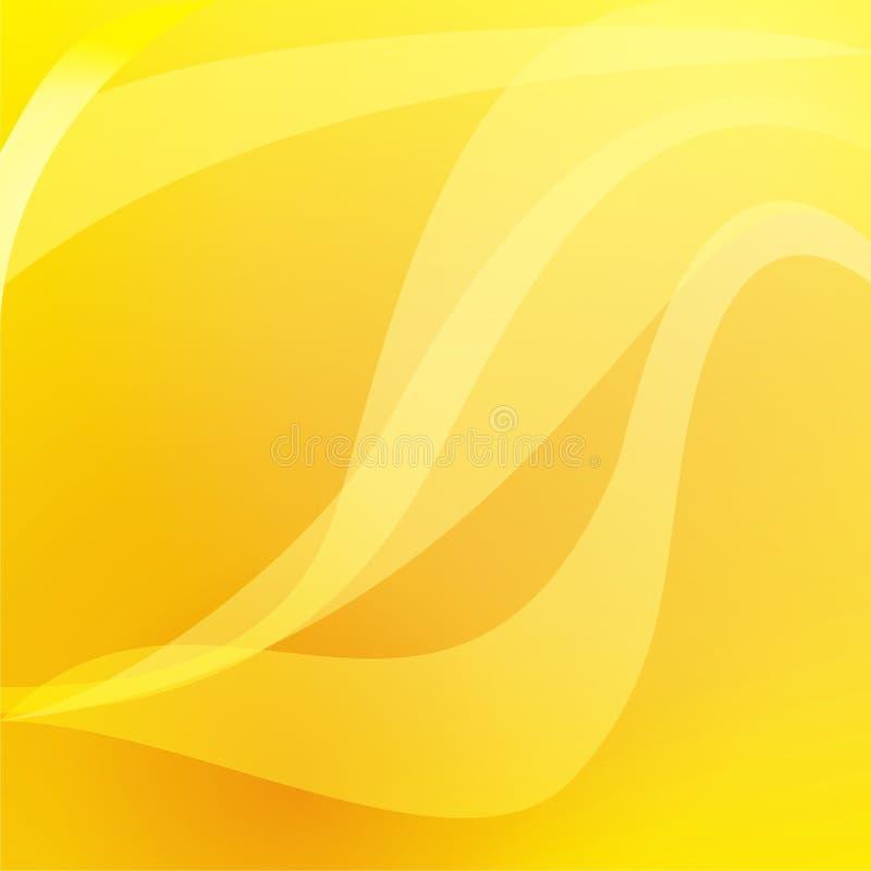 krzywa wykłada kolor żółty zdjęcie royalty free