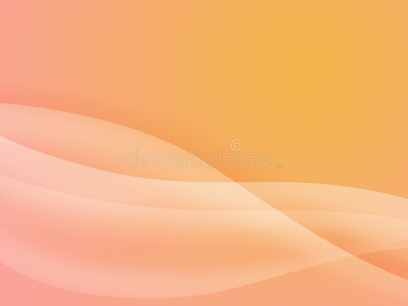 krzywe tła przepływu ilustracja wektor