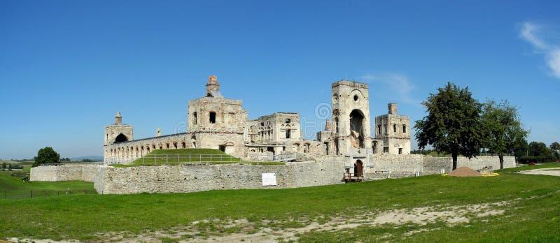 Krzyztopor城堡 免版税库存图片