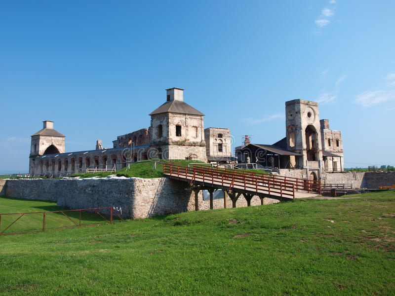krzyztopor Πολωνία κάστρων ujazd στοκ εικόνα με δικαίωμα ελεύθερης χρήσης