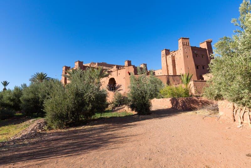 Ksar Ait Ben Hadu, Maroko obraz royalty free