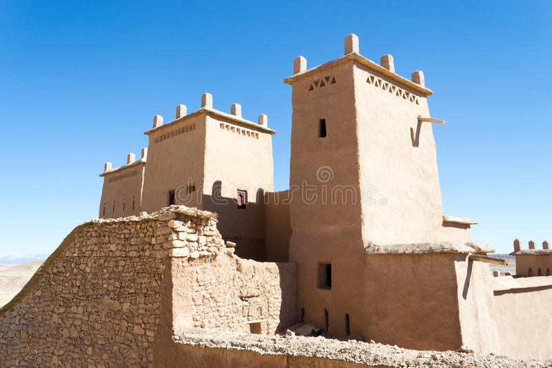 Ksar de AIT-Ben-Haddou, Marrocos fotografia de stock royalty free