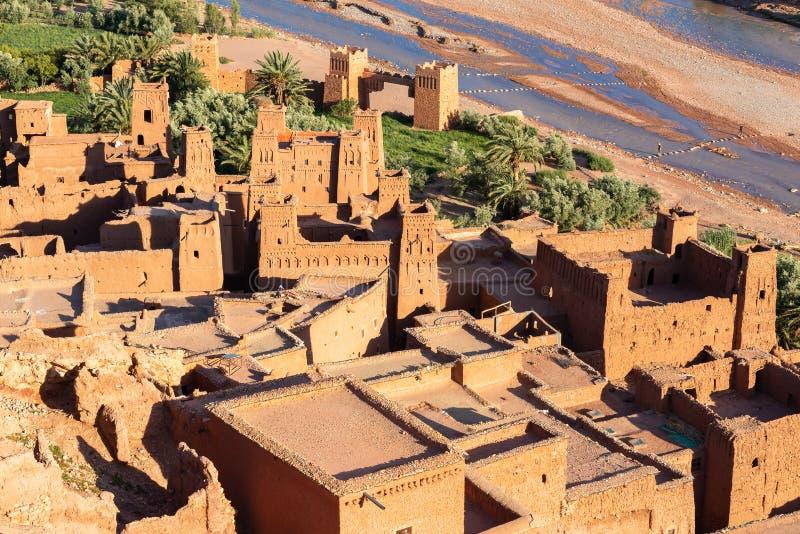 Ksar de AIT-Ben-Haddou, Marrocos fotografia de stock