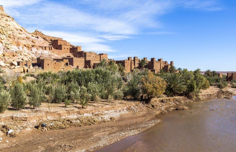 Ksar de AIT-Ben-Haddou, Moroccco foto de stock