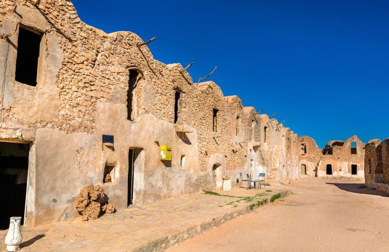 Ksar EL Ferech στη νότια Τυνησία στοκ εικόνα