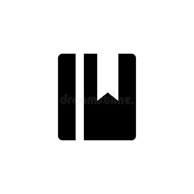 Książkowa ikona Numer telefoniczny książki znak royalty ilustracja