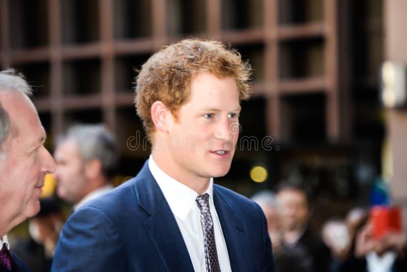Książe Harry uczęszcza rocznika ICAP dobroczynności dzień zdjęcie royalty free