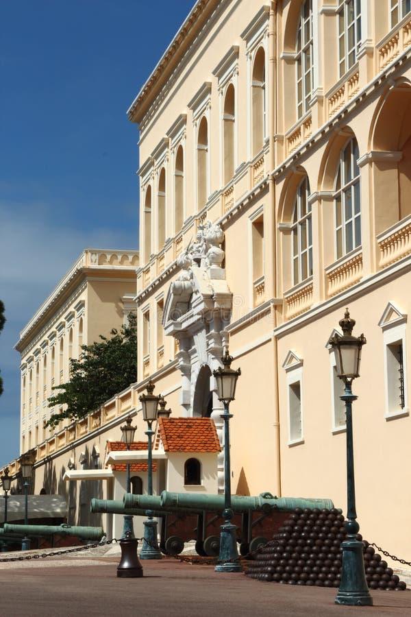 Książe ` s pałac Monaco zdjęcie royalty free