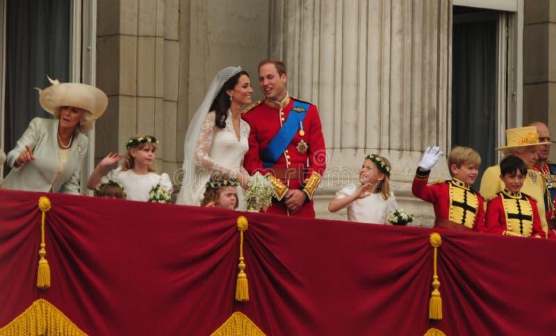 Książe William, Catherine Middleton obraz stock