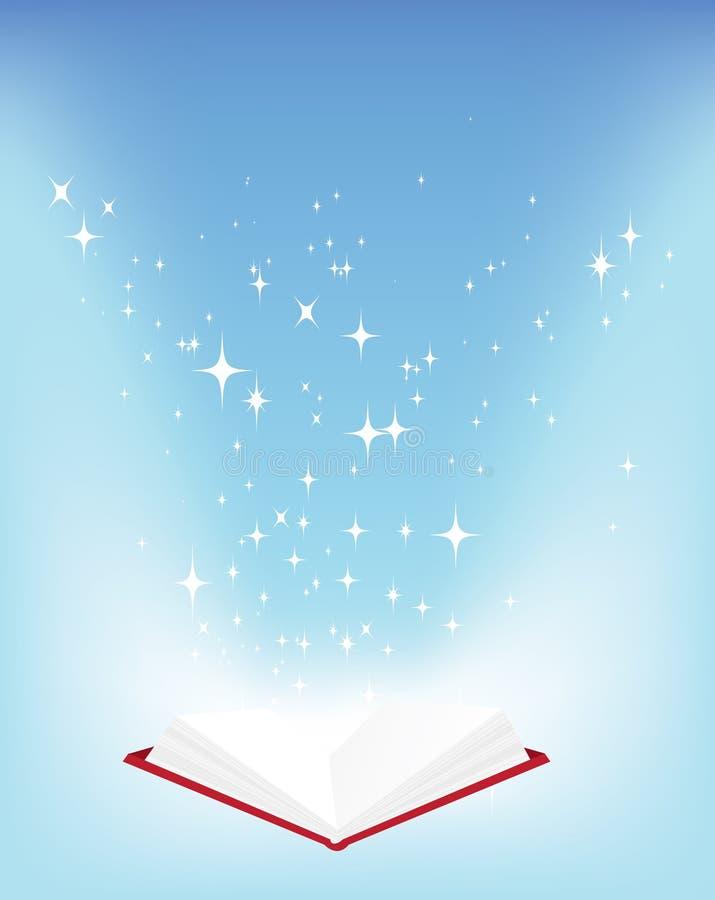książek gwiazdy royalty ilustracja