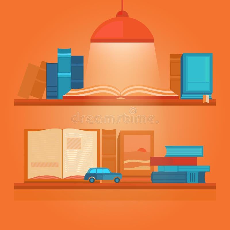 książek ilustraci wektor ilustracja wektor