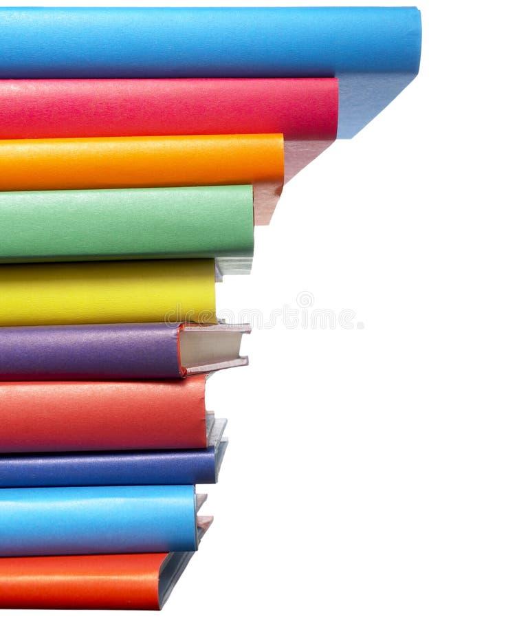 książek kolorowa edukaci sterta zdjęcia royalty free