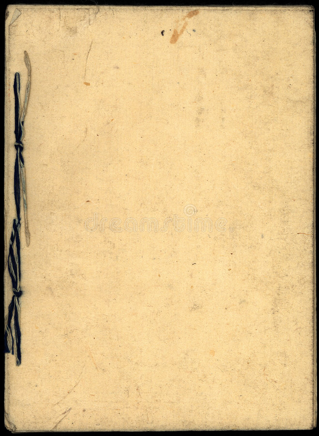 książka 01 japoński papieru obraz royalty free