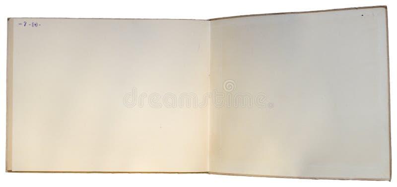 książka biel odosobniony stary otwarty obrazy royalty free