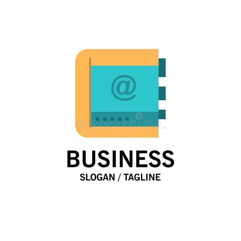 Książka, biznes, kontakt, kontakty, internet, telefon, Telefoniczny Biznesowy logo szablon p?aski kolor ilustracji