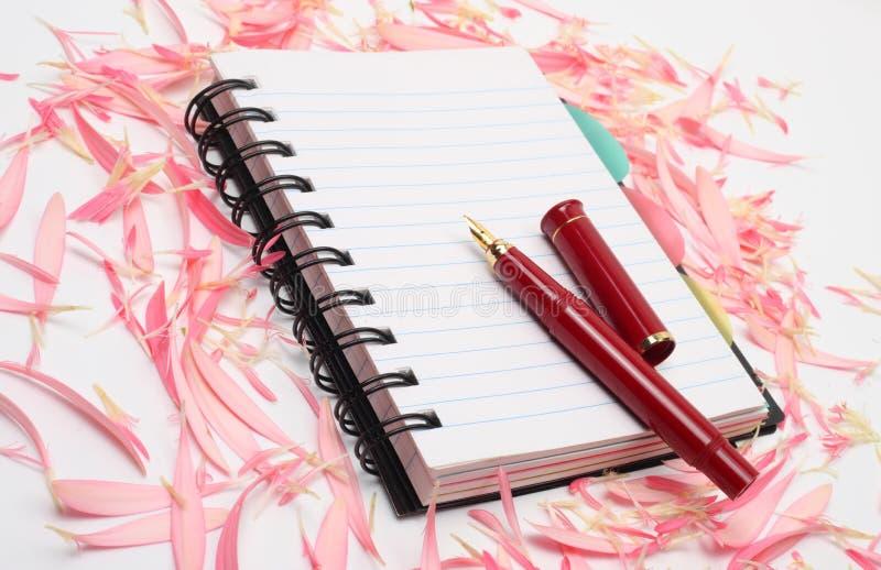 książka długopis obraz royalty free