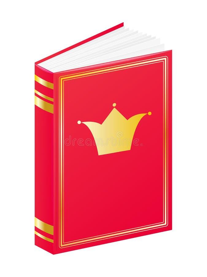 Książka dla małego princess ilustracji