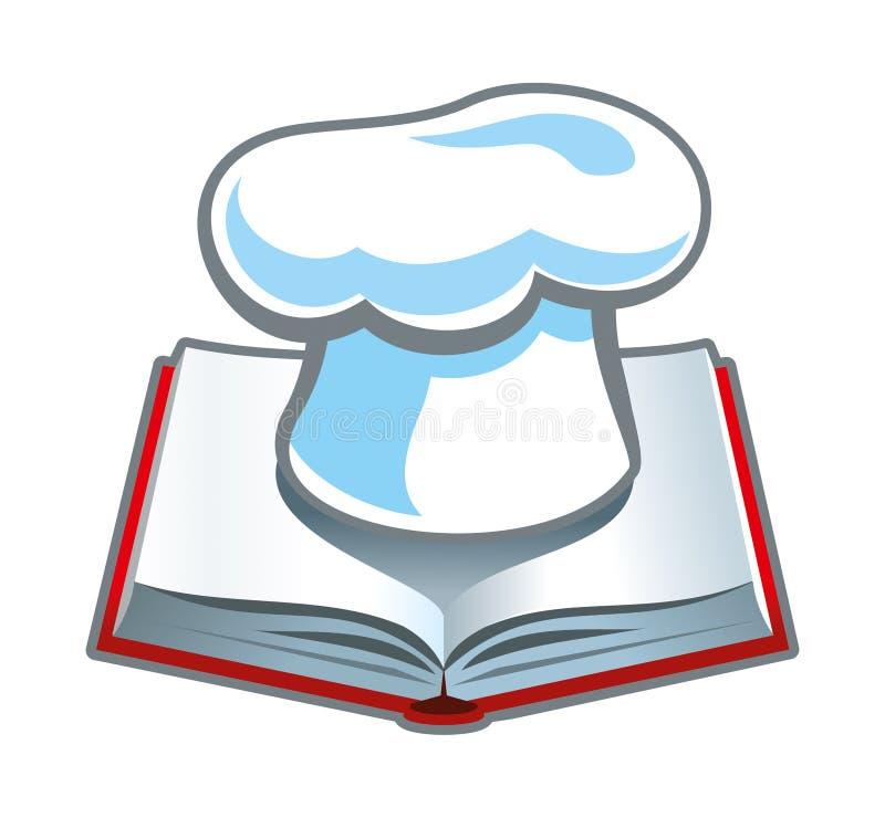 Książka kucharska ilustracja wektor