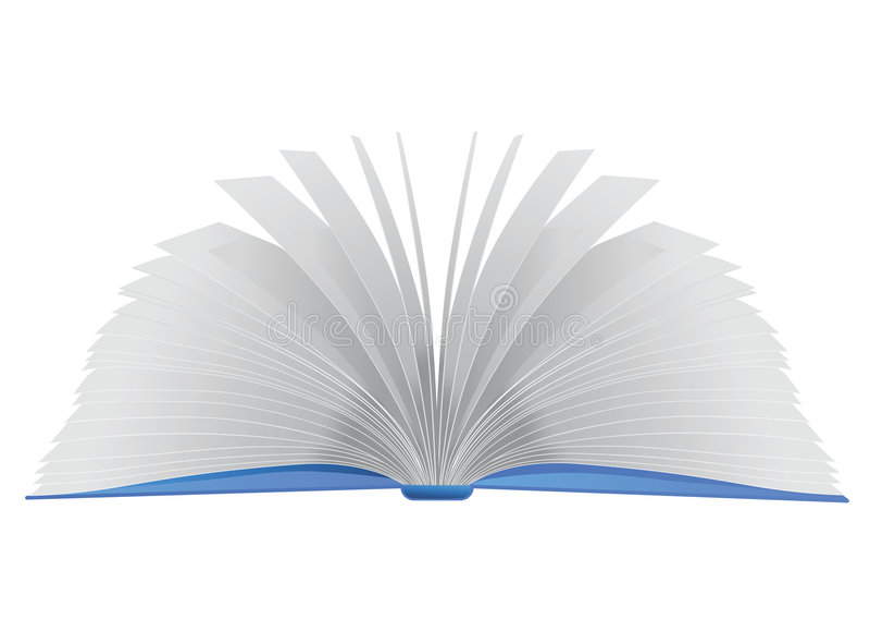 książka otwarte wektora ilustracja wektor