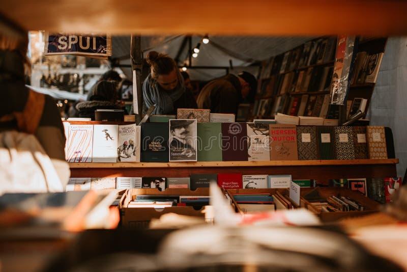 Książka sklep zdjęcia royalty free
