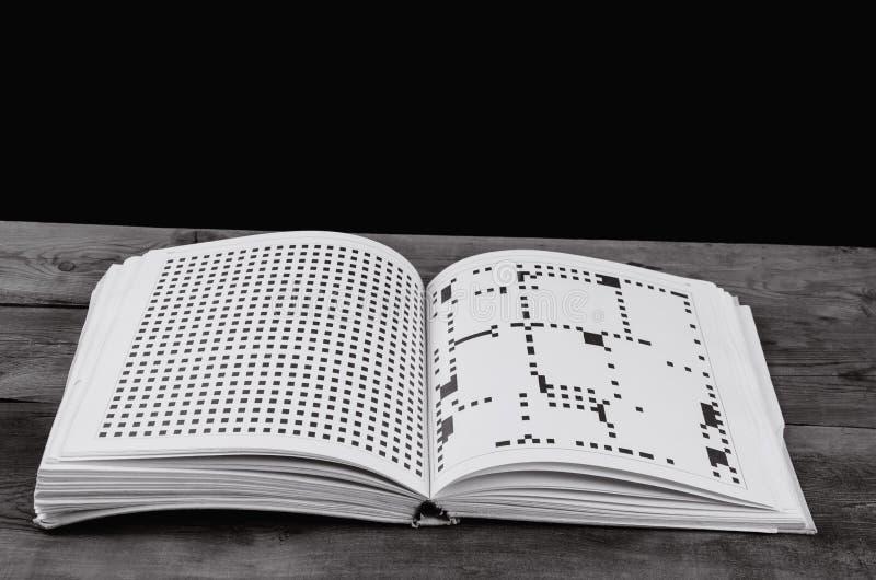 Książka z niezwykłym tekstem zdjęcia stock