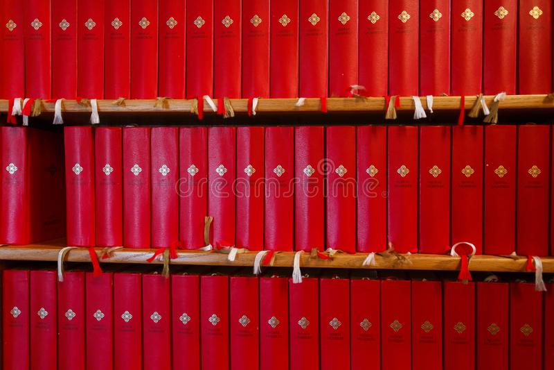 Książki Święta biblia obrazy royalty free