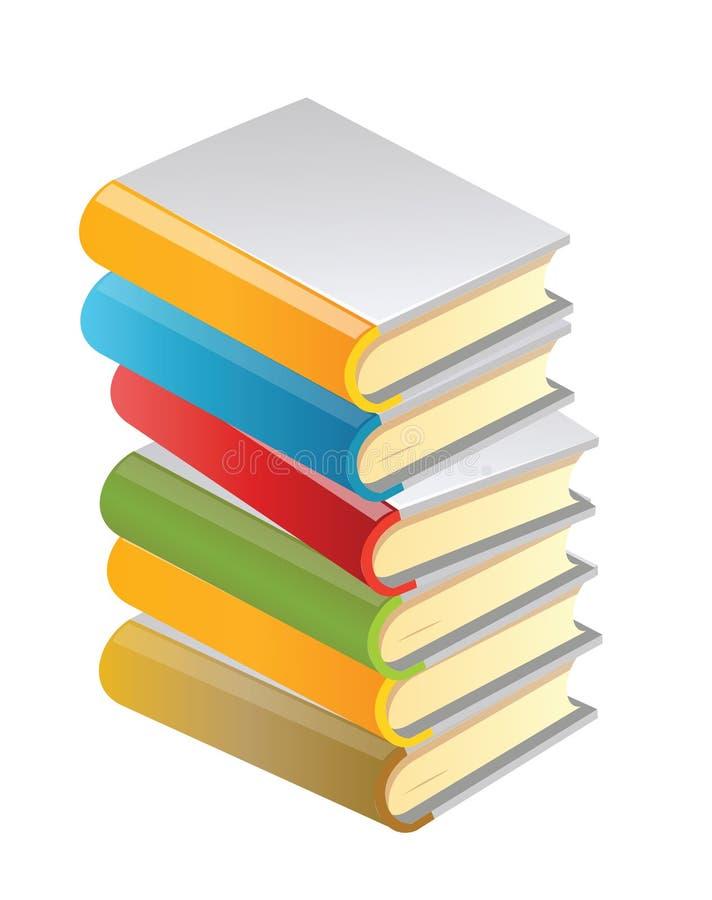 książki ilustracja wektor