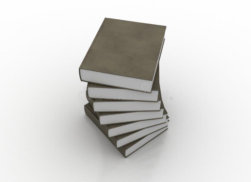 książki leather target2387_0_ zdjęcie stock