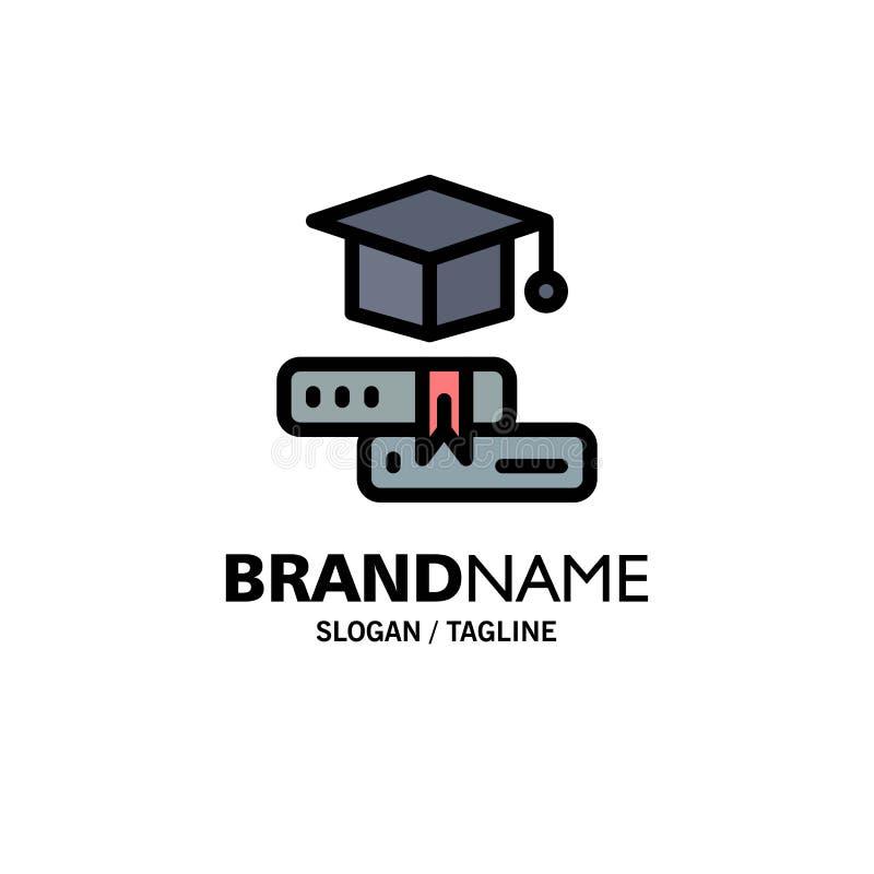 Książki, nakrętka, edukacja, skalowanie logo Biznesowy szablon p?aski kolor ilustracji