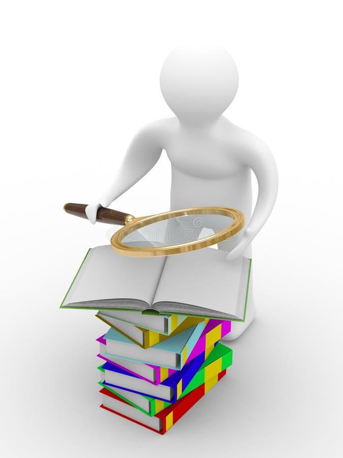 książki obsługują czytają ilustracji