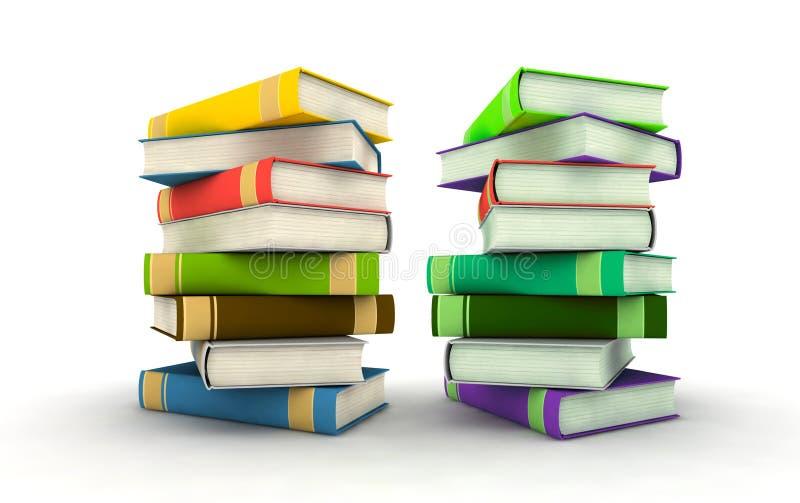 książki odizolowywali obraz stock