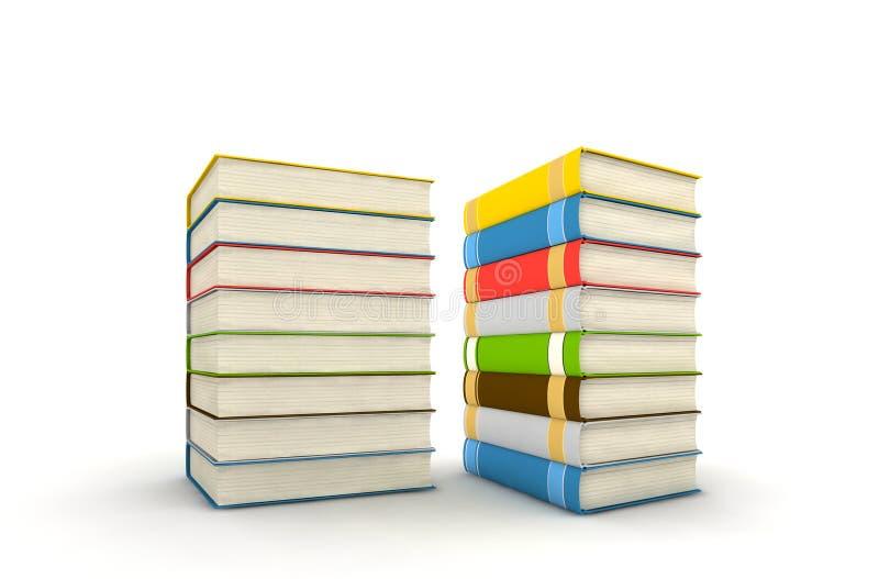 książki odizolowywali obrazy stock