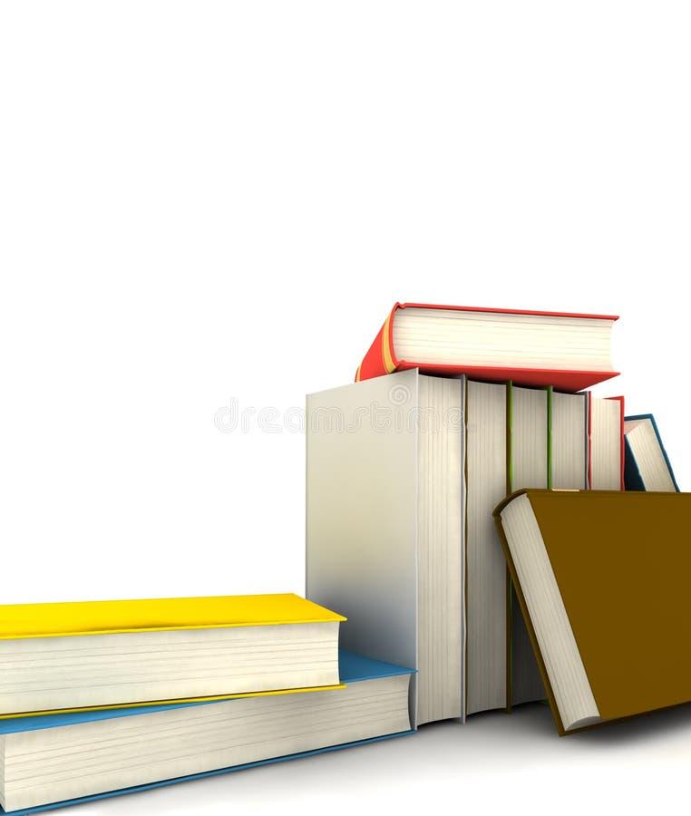 książki odizolowywali obraz royalty free