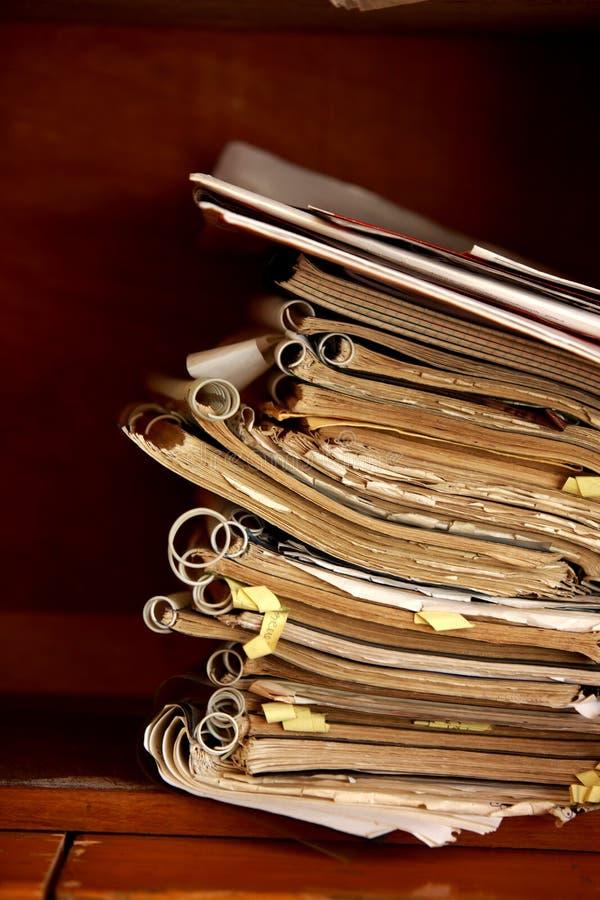 książki oprawiająca spirala fotografia royalty free
