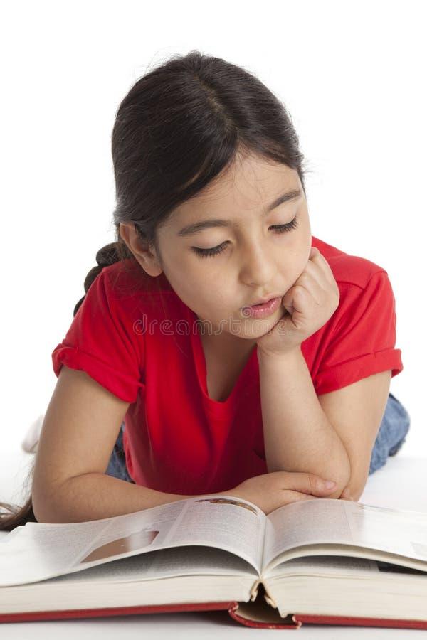 książki osiem dziewczyny stary czytelniczy rok obrazy stock