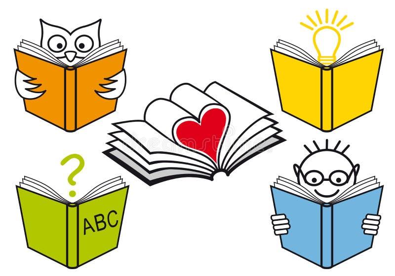 książki otwierają ilustracji