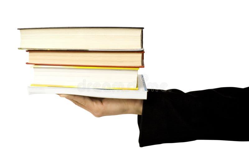 książki ręka zdjęcia stock