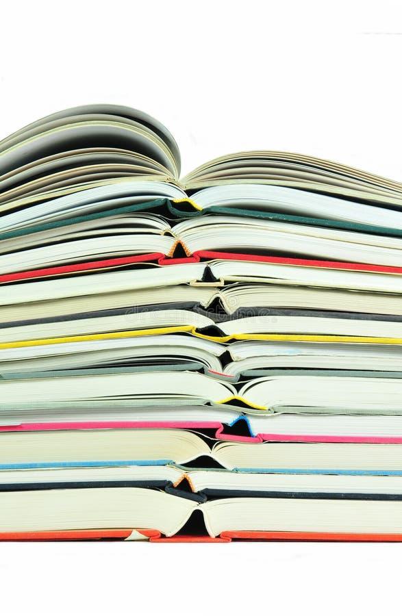 książki sterta fotografia stock
