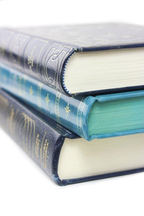 książki zamykają zamykać fotografia stock