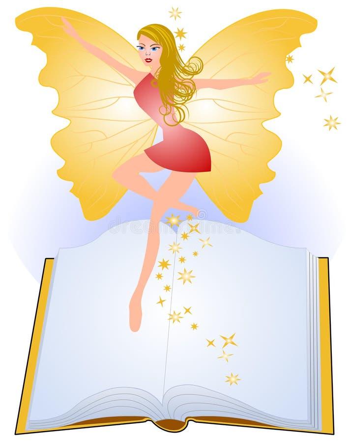 książkowa bajka royalty ilustracja