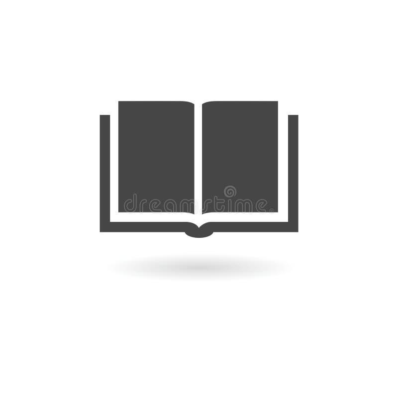 Książkowa ikona ilustracji
