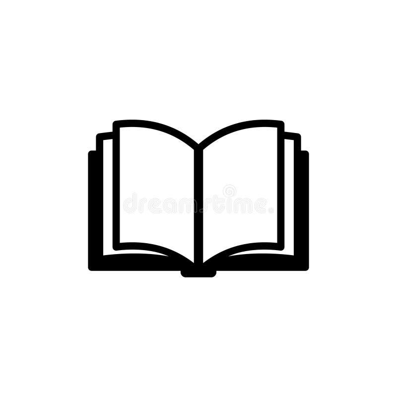 Książkowa ikona kuli ziemskiej loga wektoru sieć zdjęcie royalty free