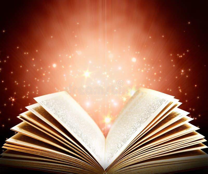 książkowa magia obrazy royalty free
